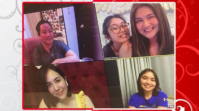 LOOK: Kathryn Bernardo, Julia Montes in virtual reunion