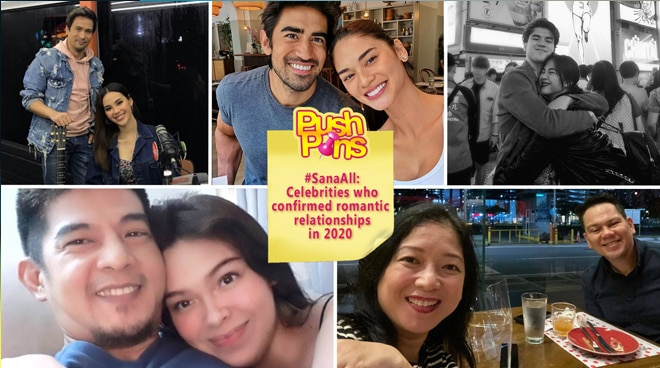 #SanaAll: Celebrities who confirmed romantic relationships in 2020 | Push Pins