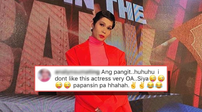 'Next time spread love, huwag puro hate': Pokwang calmly responds to a basher who ridiculed her online