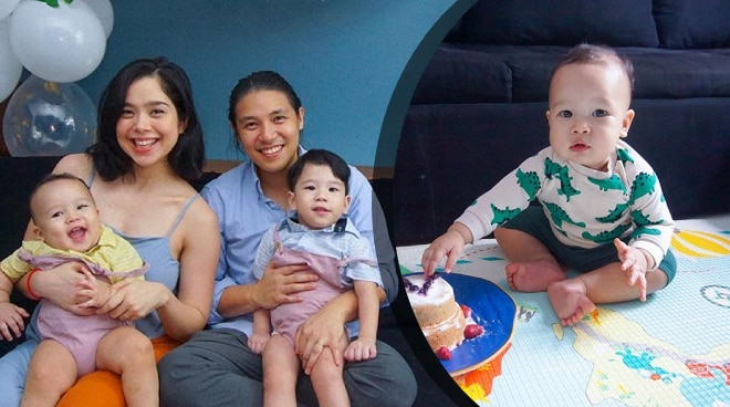 Saab Magalona celebrates first birthday of son Vito Tomas