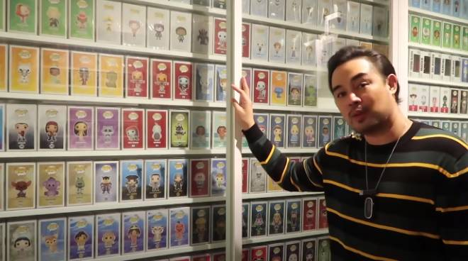 WATCH: Jed Madela does a house tour, shows his Funko collection