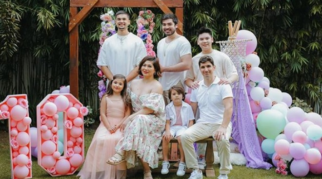 Jackie Forster, family celebrate birthday of daughter Caleigh