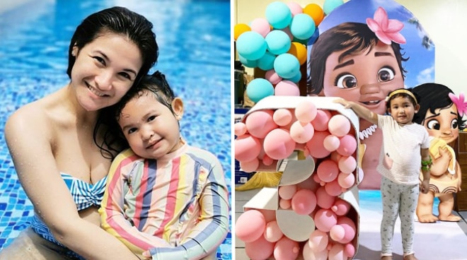 Camille Prats celebrates birthday of daughter Nala