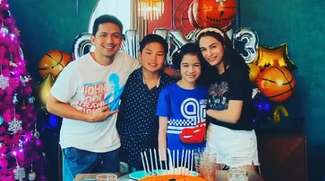 Dennis Trillo's son Calix turns 13