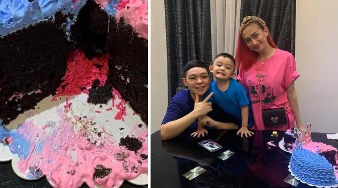 Ex-PBB housemate Mitch Talao, partner expecting baby girl