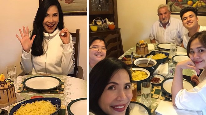 LOOK: Jenine Desiderio thanks daughter Janella Salvador , Markus Paterson for surprise birthday dinner