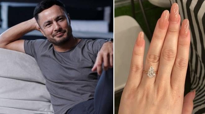 Derek Ramsay denies his engagement ring is an ex-deal: 'Ang cheap naman nun'