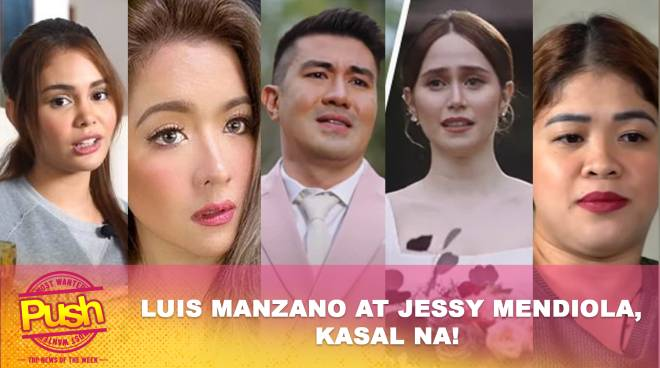 Luis Manzano at Jessy Mendiola, kasal na! | Push Most Wanted