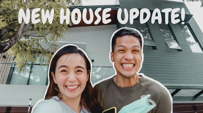 WATCH: Vin Abrenica and Sophie Albert give a glimpse of new house