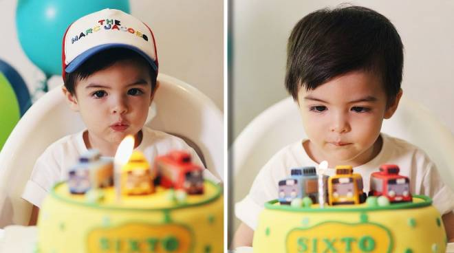 Dingdong Dantes and Marian Rivera's son Sixto turns two