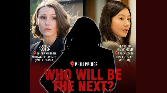 Who will portray 'Doctor Foster' in PH drama remake?