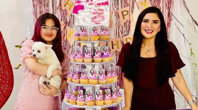 Vina Morales' daughter Ceana turns 12