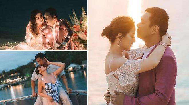 LOOK: Ara Mina's dreamy prenup photos with non-showbiz fiancé in Palawan