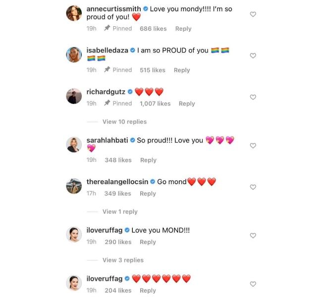 Richard Gutierrez, Anne Curtis, Angel Locsin and more celebrities express support for Raymond Gutierrez after coming out of the closet