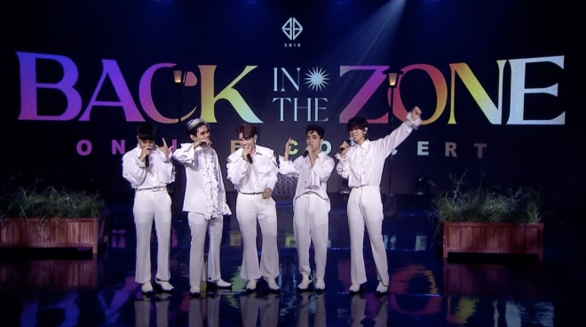 SB19 wows fans with group and solo performances in 'Back In The Zone' digital concert
