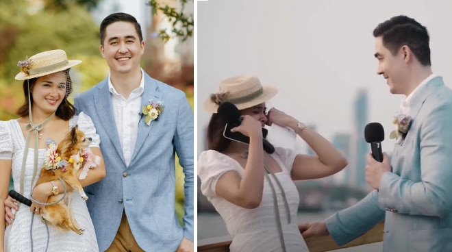 WATCH: Yam Concepcion turns emotional in wedding video with non-showbiz husband