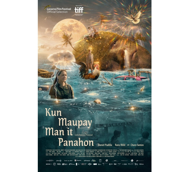 Kun Maupay Man It Panahon Whether the Weather is Fine Official Poster 74th Locarno Film Festival in Switzerland