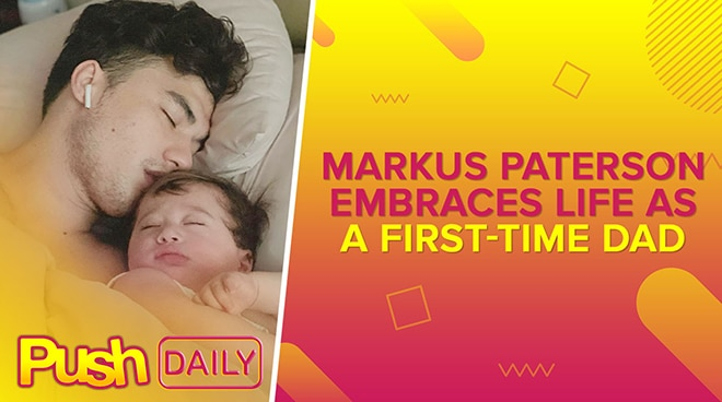 Markus Paterson embraces life as a first-time dad | PUSH Daily