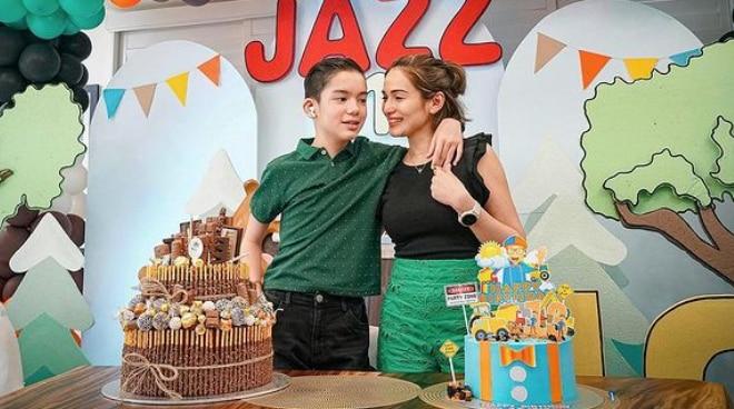 Jennylyn Mercado and Patrick Garcia's son Alex Jazz is now a teenager
