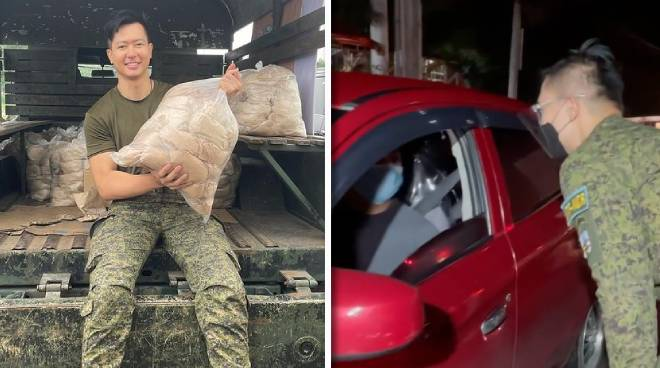 Ronnie Liang continues army reservist duties even during ECQ
