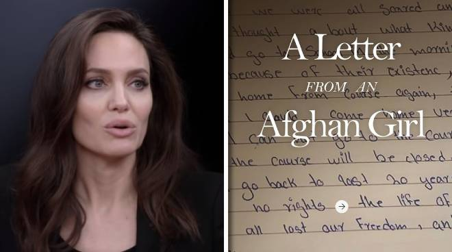 Angelina Jolie joins Instagram, lends voice for displaced Afghans in first post