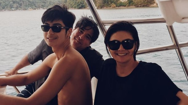 Aga Muhlach and Charlene Gonzalez's son Andres returns to Spain for college