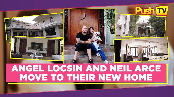 LOOK: Angel Locsin and Neil Arce move to their new home
