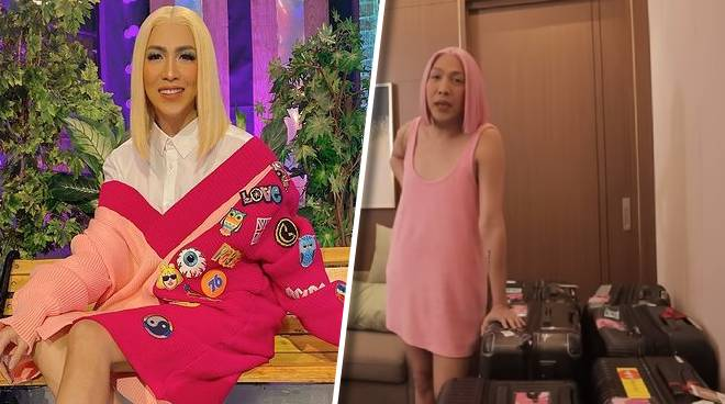 Vice Ganda brings 9 pieces of luggage for 'It's Showtime' lock-in taping: 'Options, options, options'
