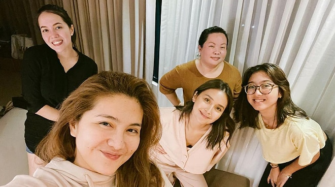 LOOK: Kathryn Bernardo, Julia Montes reunite