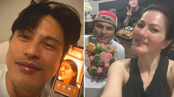 Zoren Legaspi turns 49, gets birthday surprise from family