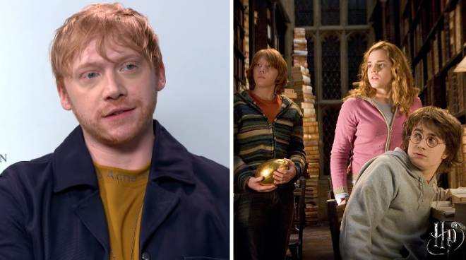 Rupert Grint admits he did not watch all of the 'Harry Potter' movies