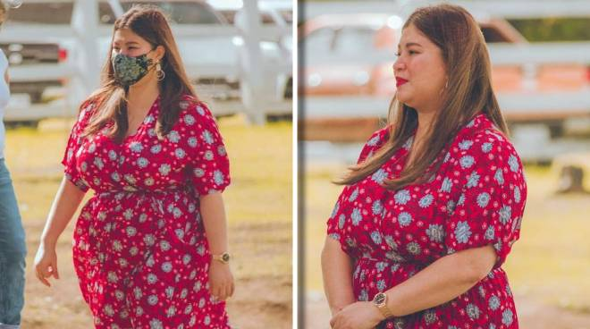 Netizens praise Angel Locsin anew forher curvy figure