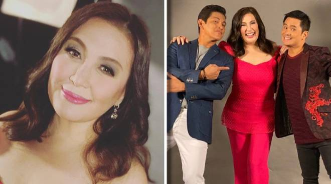 LOOK: Sharon Cuneta reunites with her Your Face Sounds Familiar family