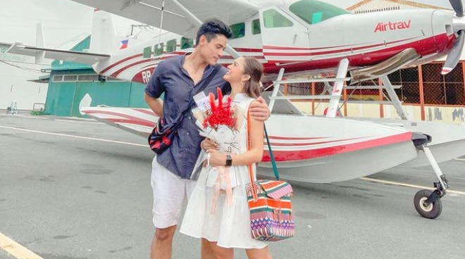 Xian Lim surprises Kim Chiu with out-of-town trip on Valentine's Day