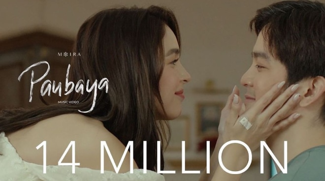 'Paubaya' MV hits 14M views in 3 days, becomes most played OPM song on Spotify PH's Top 50, Apple Music's Top 100