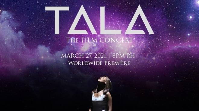 Sarah Geronimo to release 'Tala' film concert