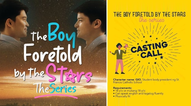 'The Boy Foretold by the Stars' announces casting call for new role in upcoming sequel