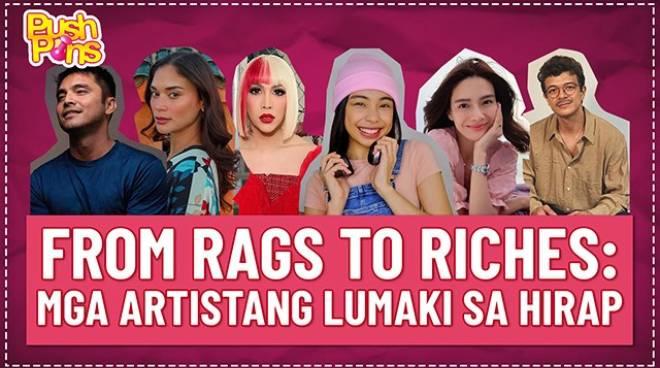 From rags to riches: Mga celebrities na lumaki sa hirap