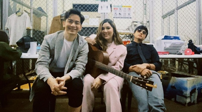 Another collab? Photo of Moira dela Torre with Daniel Padilla, Joshua Garcia stirs excitement