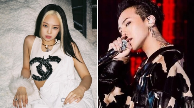 Jennie of BLACKPINK and G-Dragon of BIGBANG reportedly in a relationship for a year, Dispatch reports