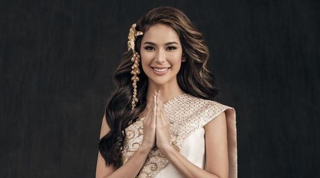Samantha Bernardo, first Miss Grand International candidate to arrive in Thailand