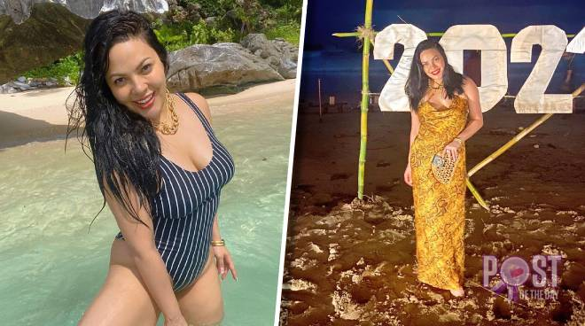 KC Concepcion flaunts beach body as she welcomes 2021 in Palawan