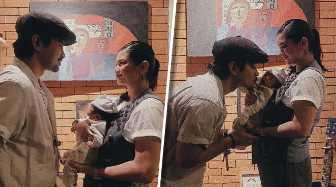 Meryll Soriano at Joem Bascon, ipinakilala ang kanilang anak