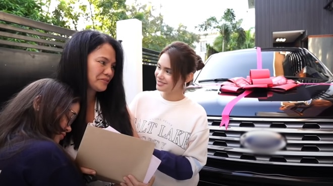 WATCH: Tears flow as Ivana Alawi gifts mom with brand new car