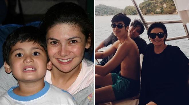 Charlene Gonzalez turns sentimental as son Andres leaves for Spain