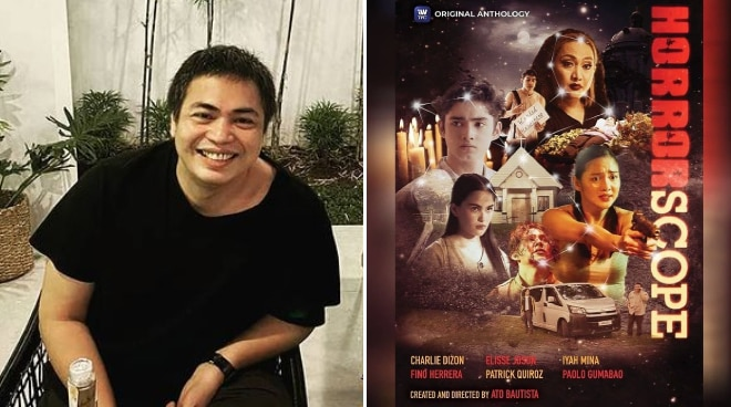 Director Ato Bautista admits dream come true to do horror anthology 'Horrorscope'