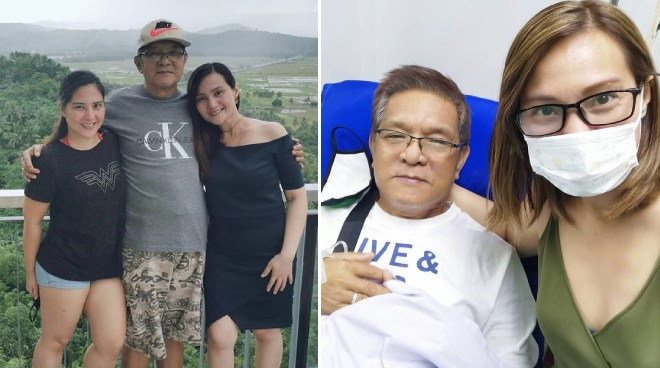 Gladys Reyes' father is rushed to hospital after heart attack