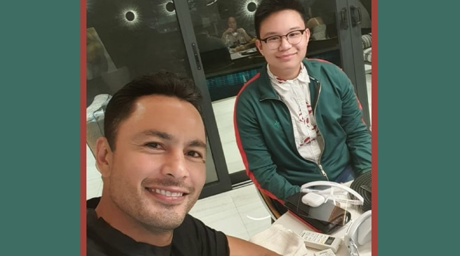 LOOK: Bimby Aquino Yap joins the Ramsays for family dinner