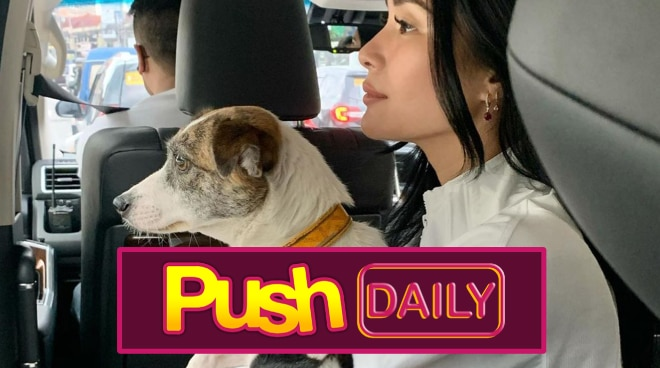 'Mala-action star': Heart Evangelista, hinabol ang kanyang aso sa may Ortigas Avenue | PUSH Daily
