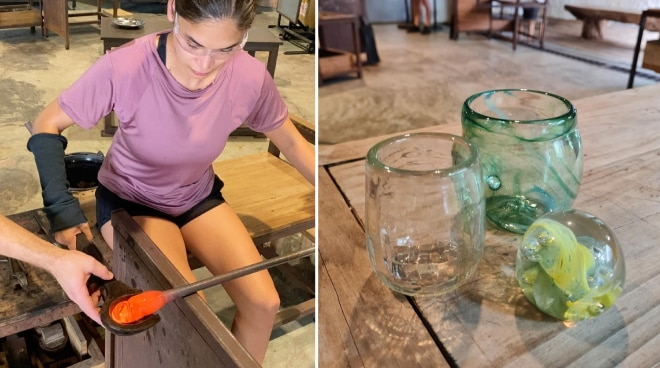 WATCH: Pia Wurtzbach tries glassblowing for first time